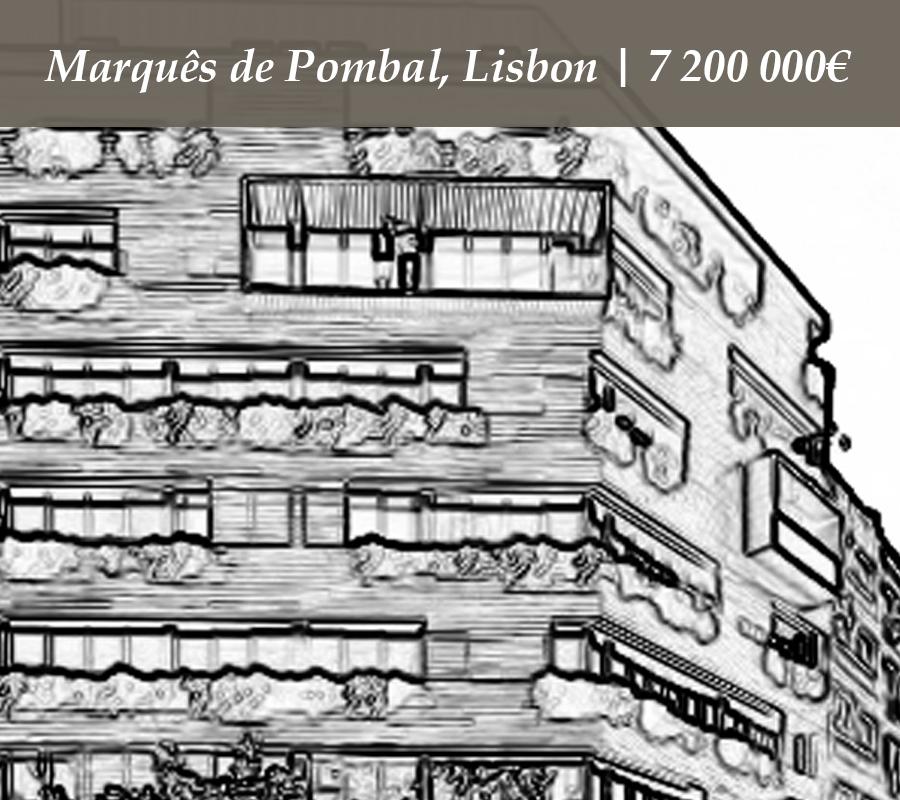 Marquês de Pombal | Lisbon | 7 200 000€