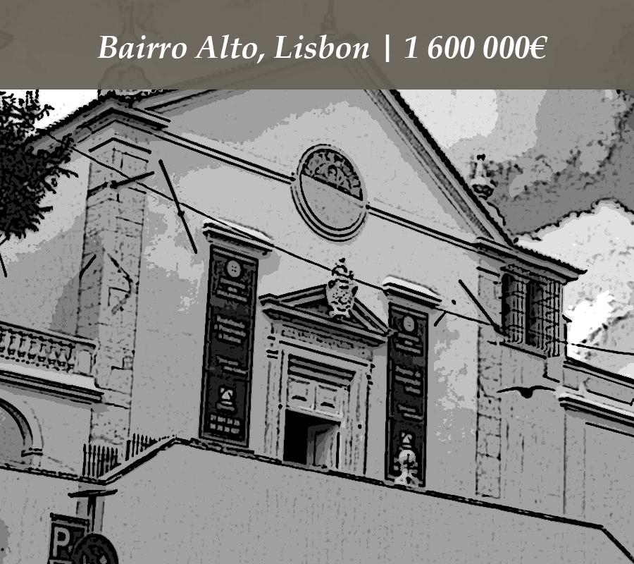 Bairro Alto, Lisbon | 1 600 000€