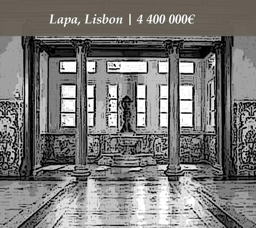 Lapa, Lisbon | 4 400 000€