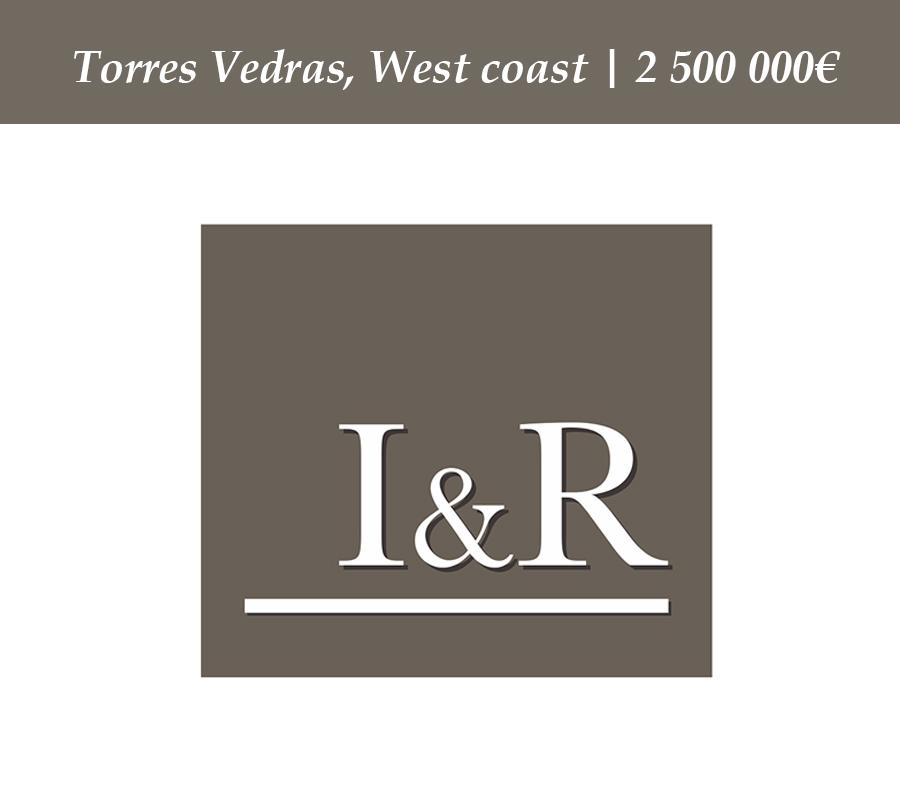 Torres Vedras, West coast | 2 500 000€